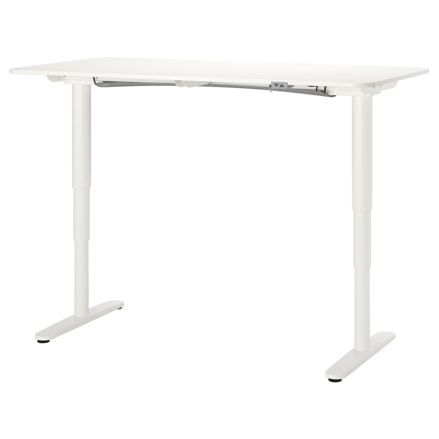 BEKANT ベカント デスク 昇降式 - ホワイト - IKEA